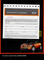 Convertible Contract ad