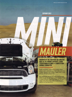 MINI MAULER special advertising section