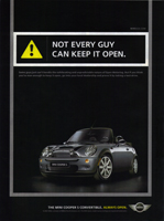 NOT EVERY GUY CAN KEEP IT OPEN.