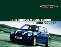 John Cooper Works MINI Cooper Tuning brochure