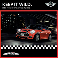 KEEP IT WILD. MINI. JOHN COOPER WORKS TUNING. 2015