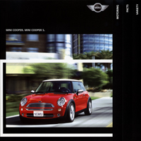 MINI models brochure (2005)