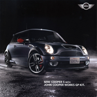 MINI COOPER S WITH JOHN COOPER WORKS GP KIT.