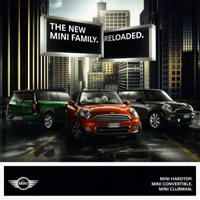 THE NEW MINI FAMILY. RELOADED.