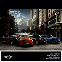 MINI HARDTOP. MINI CONVERTIBLE. MINI CLUBMAN. MINI COUNTRYMAN.