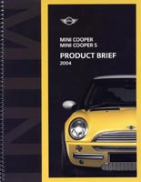 MINI COOPER MINI COOPER S PRODUCT BRIEF 2004