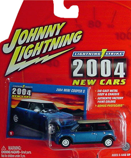 Johnny Lightning 2004 New Cars MINI Cooper S