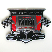 MINI Takes the States 2008 grille badge