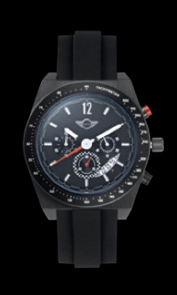 MINI Chronograph Watch, Black (2013)