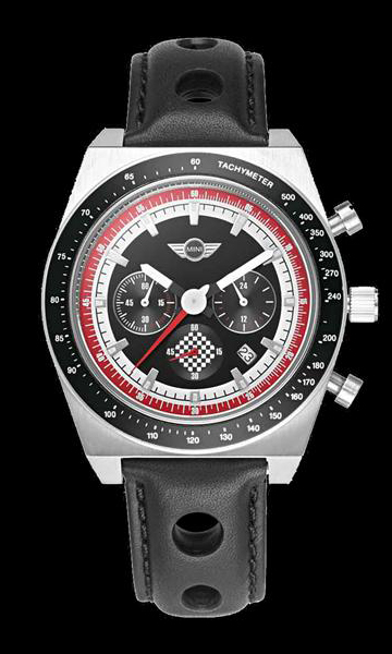 MINI Chronograph Watch, Silver (2013)