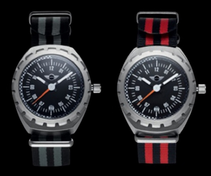 MINI Speedometer Watch, Silver (2013)
