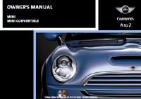 Owner's Manual (2008 Convertible)