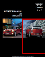 Owner's Manual (2008 Hardtop / Clubman)