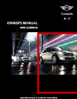 Owner's Manual (2011 Clubman)