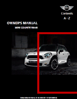 Owner's Manual (2011 Countryman)
