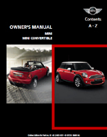 Owner's Manual (2011 Hardtop / Convertible)
