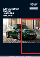 2013 mini owner s manuals now available online library of motoring rh libraryofmotoring info 2011 mini countryman s all4 owners manual 2011 mini countryman owner's manual