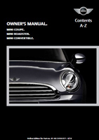 Owner's Manual (2013 Coupe / Roadster / Convertible)