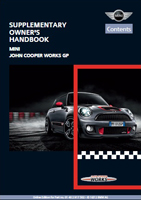 Owner's Manual (2013 John Cooper Works GP)