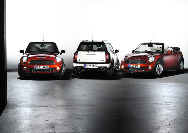 The new MINI family.