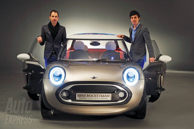 Auto Express and MINI Rocketman Concept