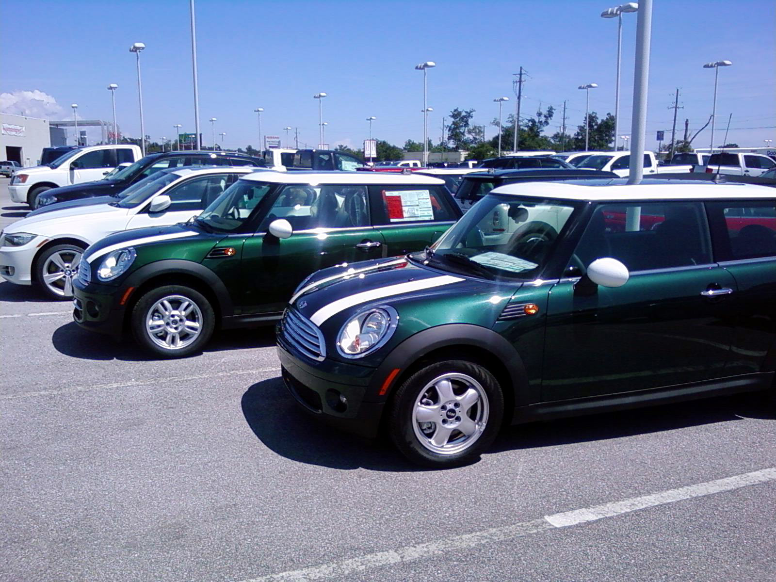 2011 BRG II MINI and 2010 BRG MINI
