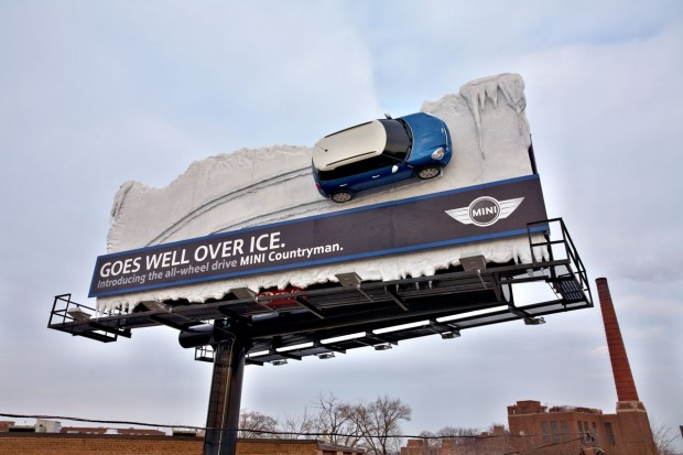 MINI Countryman billboard