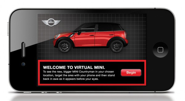 virtual MINI Countryman app