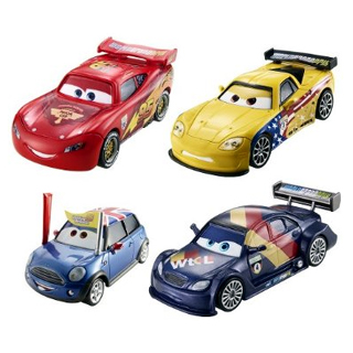 Disney Pixar Cars 2 set
