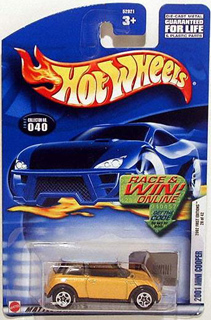Hotwheels 2001 MINI Cooper