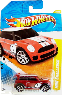 Hot Wheels 2011 MINI CHALLENGE (red)