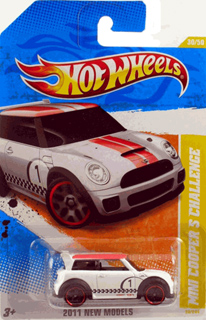 Hot Wheels 2011 MINI CHALLENGE (white)