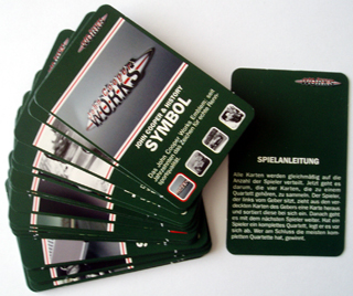 John Cooper Works card game cards
