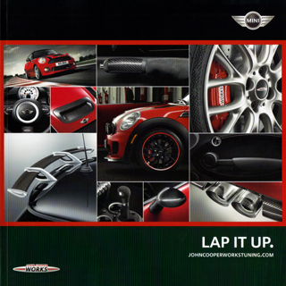 LAP IT UP. John Cooper Works Accessories brochure