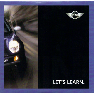 LET'S LEARN. August 2002 CD cover