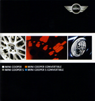 MINI models fold-out brochure in Spanish (2005) (front)