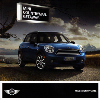 MINI Countryman brochure (2011)
