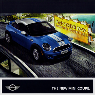 MINI Coupe brochure [2012]