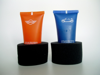 MINI Cabrio sunscreen (in holders)