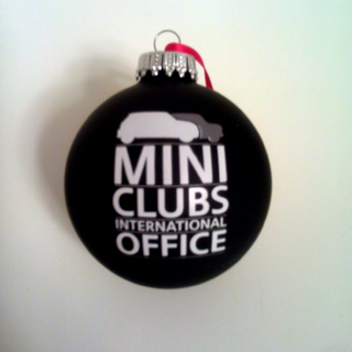 MINI Clubs International Office ornament