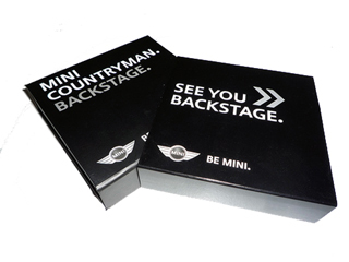 MINI COUNTRYMAN. BACKSTAGE. kit
