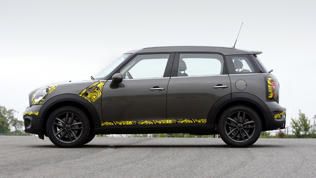 MINI Countryman driven