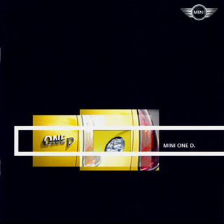 MINI ONE D. brochure (2003)