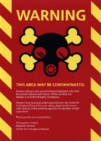 MINI  QUARANTINE KIT sticker