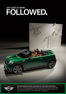 MINI Roadster print ad 6