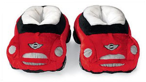 MINI Cooper plush slippers