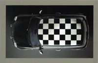 MINI USA Let's Motor card (Jet Black)