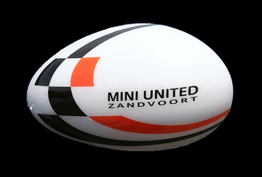MINI United 2007 mirror caps