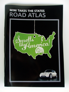 MINI Takes the States 2006 Road Atlas