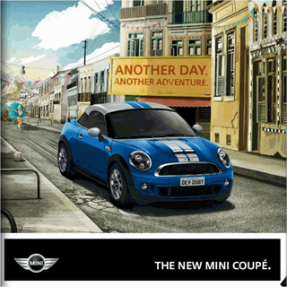 online MINI Coupé brochure